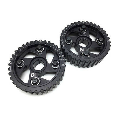 Brian Crower Adjustable Cam Gears w/ARP Fastener Bolts for Honda B Series (Pair)