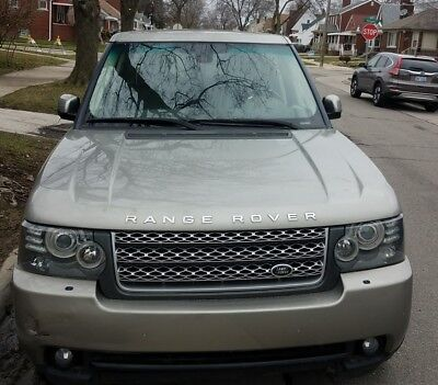 2010 Land Rover Range Rover HSE 2010 Land Rover Range Rover HSE LUX
