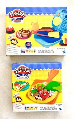 play doh kitchen creations breakfast bakery kitchen creations pizza party - Kitchen Creations