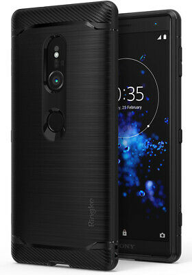For Sony Xperia XZ2 | Ringke [ONYX] Rugged Flexible Shockproof TPU Cover Case