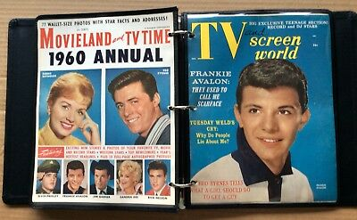 24 VINTAGE MAGAZINE COVERS (Circa 1958-1960) Different Genres; Covers Only