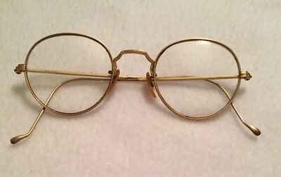 Bausch & Lomb B & L Vintage Glasses 1/10 12K G F Gold Filled