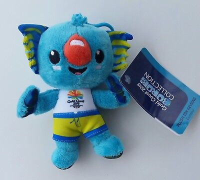 Gold Coast 2018 Commonwealth Games Plush Toy Borobi Mascot 15cm official S/OUT