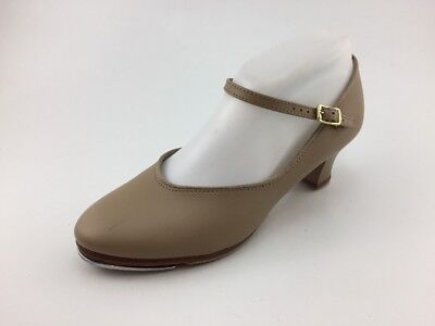 Capezio Womens Tele Tone Tap 560 Tan Dance Shoes US Size 7.5 M