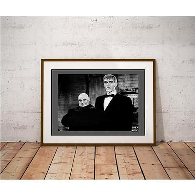 Popular 1960's TV Show Cast - Uncle Fester and Lurch the Butler