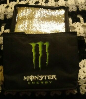 Monster Energy Insulated Cooler Bag with Strap