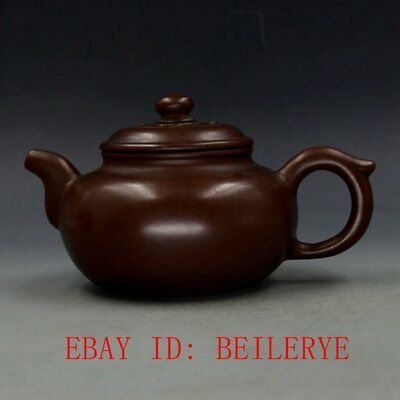 Chinese Yixing Zisha Hand-carved Teapot Made By Zhu KeXin 12