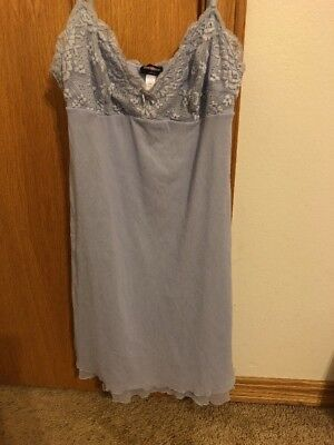 Cosabella Sexy Lavender Lace Babydoll Nightie Size Medium