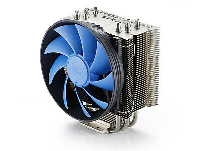 DEEPCOOL GAMMAXX S40 CPU Air Cooler, 4 Heatpipes, 120mm PWM Fan, AM4 Compatible