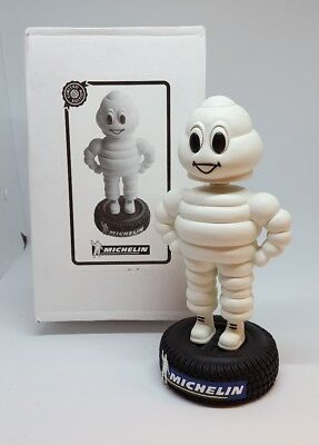 Vintage Michelin Man Bobblehead Bobble Head Statue Figurine w/ box LTD Edition