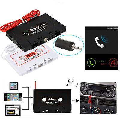 Universal Car IC800 Cassette Tape Adapter Tape Converter for iPod iPhone MP3 MP4