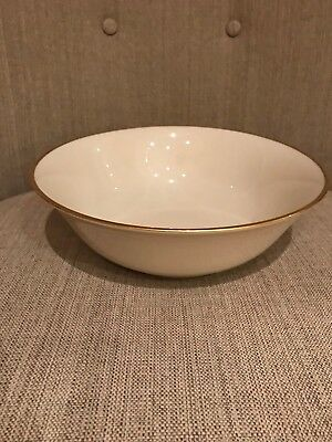 Gorgeous - Lenox - MANSFIELD - Round Bowl - Presidential Collection - Ivory/Gold