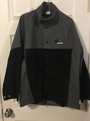 Weldas Arc Knight Welding Jacket Part#38-4350L Large