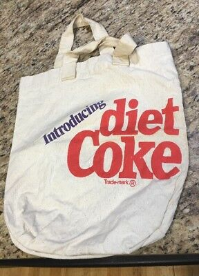 Introducing Diet Coke Natural Canvas Tote Bag - Free Shipping!!!