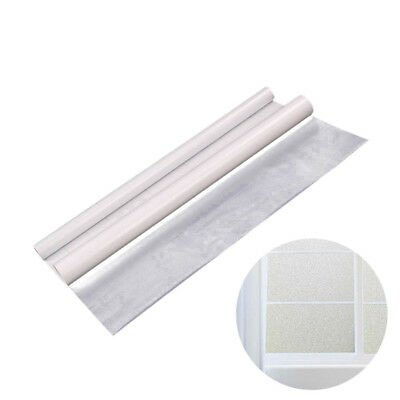 1M/3Meter Privacy White Frosted Window Door Film Frost Etched Glass Sticker