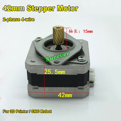 1.8 Degree NEMA 17 42MM 2-phase 4-wire Stepper Motor for 3D Printer CNC Robot