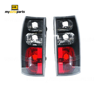 Tail Lamp suits Holden Commodore fits Pair - Black, Vt-Vz Ute/Wagon Pt Pr