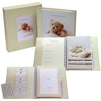 My Baby's Unisex Deluxe Journal - Perfect New Baby Gift & Keepsake