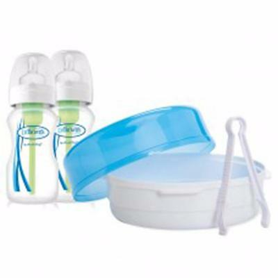 Dr Brown's Options Microwave Steriliser -Includes X2 270Ml Bottles