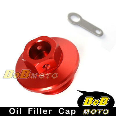 Racing Engine Red Oil Filler Plug Cap For YAMAHA WR250F 2003-2009 04 05 06