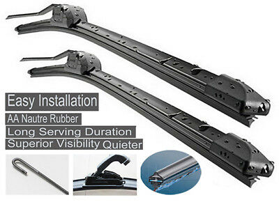 Fit Mitsubishi OUTLANDER ZG ZH 2006-2012 Complete Windshield Wiper Blades