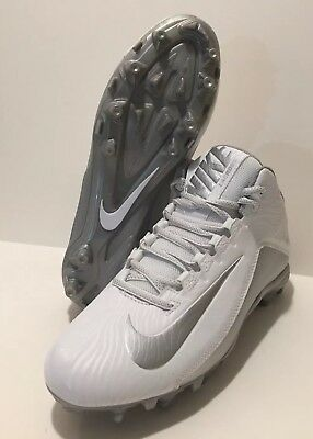 Nike Speedlax 5 Womens Lacrosse Cleats Size 9.5 White Gray NEW 807158-100