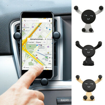 New Universal Gravity Car Mount Air Vent Holder Stand For Cell Phone GPS Samsung