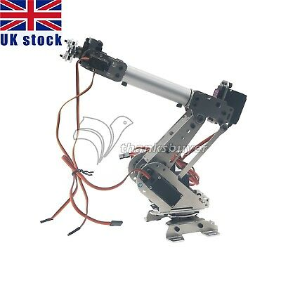 Industrial 6Dof Mechanical Robot Arm Metal Robotic Manipulator DIY UK