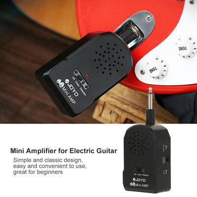 Guitar Practice Mini Pocket Amplifier Amp Speaker Headphone for Electric Guitar