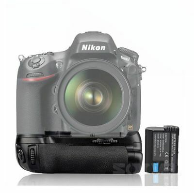 NEW Battery Grip Pack for Nikon D810 D800 D800E Camera as MB-D12+EN-EL15 Battery