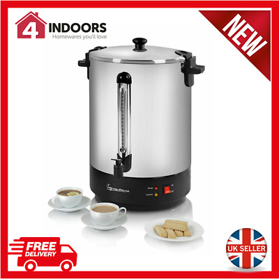 Signature S025 30L Stainless Catering Steel Urn Water Boiler 2500W  - Brand New