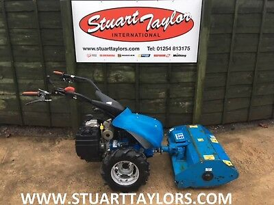 BCS 630 WS Max Banking Slope Lawn Mower With 1 Metre Flail & Mini Mp Hay  Baler