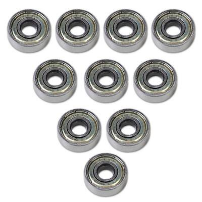 Durable 10X Flange Ball Bearing 608ZZ 8*22*7 mm Metric flanged Bearing NEW