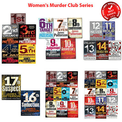 james patterson womens murder club books Collection Set Pack 1 2 3 4 5 upto 18
