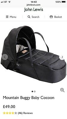 Mountain Buggy Cocoon Bn In Box