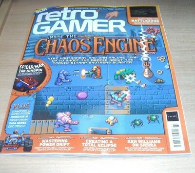 Retro Gamer magazine #180 2018 Inside the Chaos Engine, Power Drift, Renegade 3