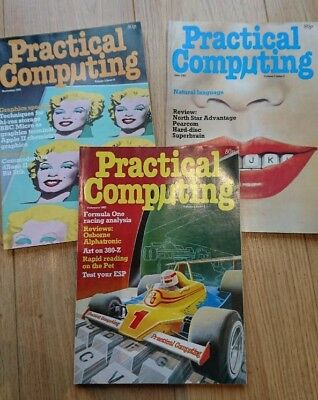 3 Vintage Practical Computing Magazines | Feb, June and Nov 1982