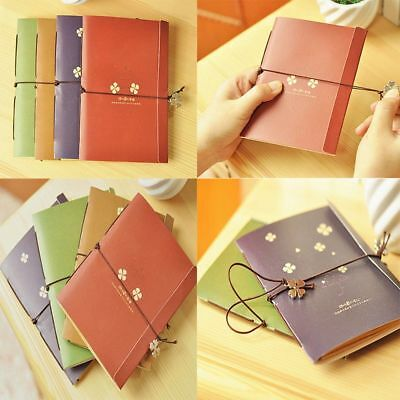Journal Blank Vintage Pages Craft Mini Retro Notes Travel Notebook Paper Memo