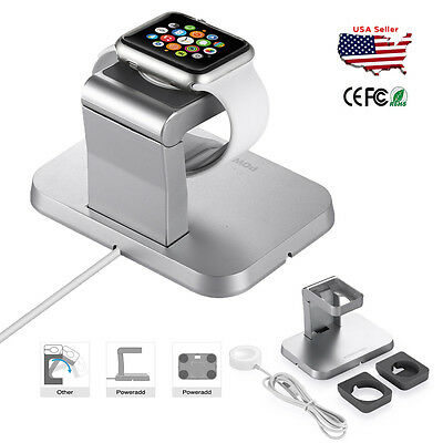 Magnetic Charger Charging Cable & Charge Stand For Apple Watch iWatch 38mm 42mm