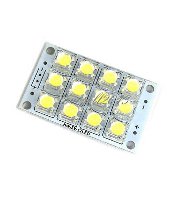 5pcs 12v Led Panel Board 42 Piranha Led Energy Saving Panel Light Board White Consumers First Integrated Circuits