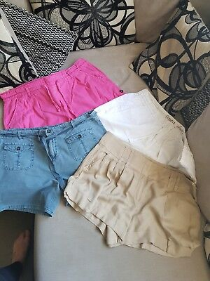 4 pairs of ladies shorts size 18
