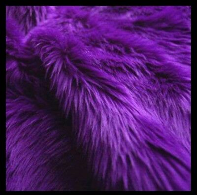 "Faux Fur Purple, 18x20"" Newborn photo props blanket size photography!!"