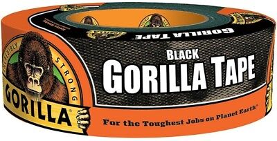 "Gorilla Glue Black Gorilla Tape 1.88"" x 35 yd 1 ea (Pack of 3)"