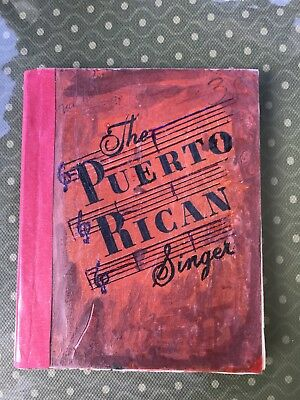 Antique Book, The Puerto Rican Singer.