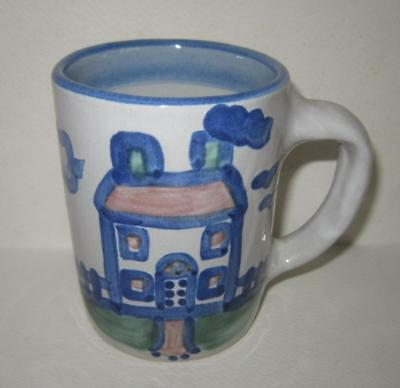 M A Hadley House Home Pottery Mug Cup Pottery The End Louisville Kentucky Stone