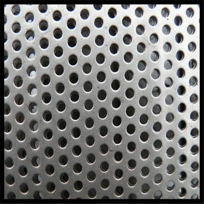 304 stainless steel perforated Sheet Metal 0.8mm thickness (Various sizes in mm)