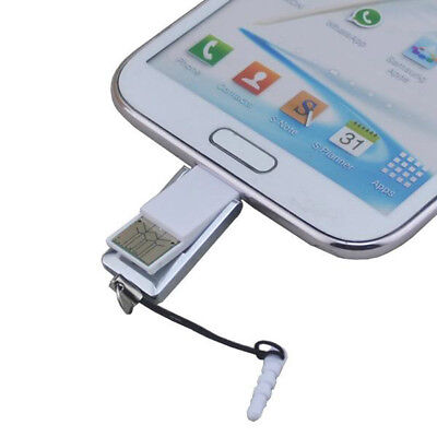 Phone PC Practical Mini 2in1 OTG Adapter Micro USB 2.0 Micro SD TF Card Reader