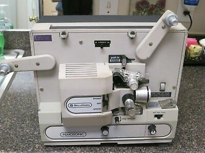 Bell & Howell Filmosonic Sound Motion Picture Projector Super 8mm1733