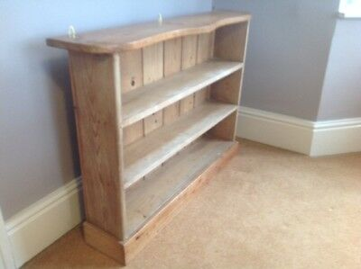 Reclaimed  Pine 3 Shelf  Bookcase Free standing or wall hung