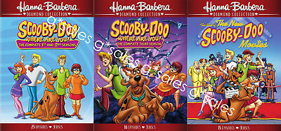 Scooby-Doo Where Are You! Complete TV Series Season 1-3 + MOVIES ~ NEW DVD SET